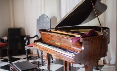 Преместване на пиано.